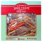 Christmas Sour Fruity Candy Canes - 9oz/60ct