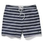 HORIZONTAL STRIPE VOLLEY SWIM TRUNK