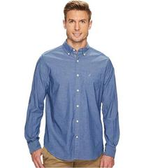 Nautica Long Sleeve Anchor Solid End on End
