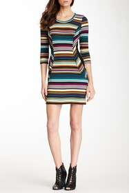 Papillon Striped Dress