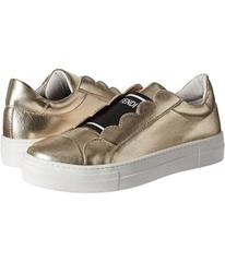 Fendi Metallic Logo Slip-On Sneakers (Big Kid)