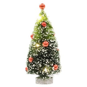 Philips Christmas Battery Operated LED Green Brush