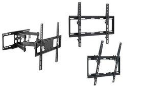 Argom Fixed, Tilt, or Full Motion Wall Mounts for