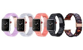 Prime Bands Resin Bracelet Band for Apple Watch Se