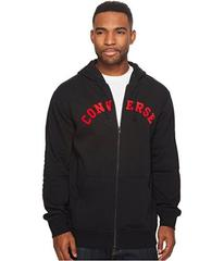 Converse Quilted Panel Full Zip Hoodie
