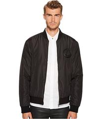 Versace Collection Logo Patch Bomber Jacket