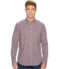 Nautica Long Sleeve Mini Plaid