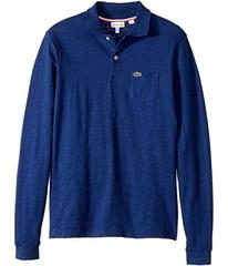 Lacoste Long Sleeve Jaspe Polo with Pocket (Infant