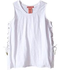 Blank NYC Kids Sleeveless Lace-Up Tank Top (Little