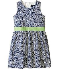 Toobydoo Belted Navy and White Party Dress (Infant