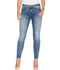 7 For All Mankind The Ankle Skinny w/ Grinded Hem
