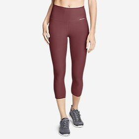 Women's Movement High Rise Capris