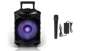 Kocaso Portable Bluetooth Party Speaker with Color