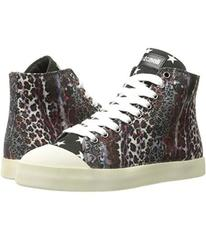 Just Cavalli Mixed Printed Canvas High Tops