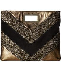Just Cavalli Glitter and Laminated Leather Bag