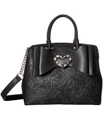 Betsey Johnson Belted Bow Satchel