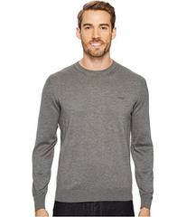 Lacoste 100% Cotton Jersey Crew Neck Sweater