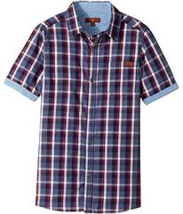 7 For All Mankind Button Down Short Sleeve Woven (