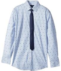 Tommy Hilfiger Long Sleeve Stretch Shirt with Tie
