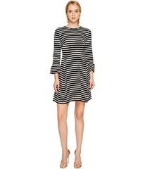 Kate Spade New York Stripe Ponte Fit and Flare Dre