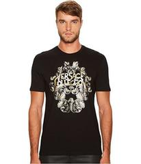 Versace Collection Rock N' Roll Logo Tee