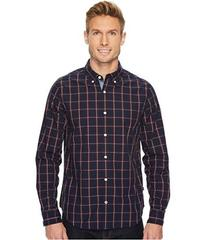 Nautica Long Sleeve Windowpane Plaid Shirt