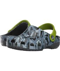 Crocs Kids Classic Graphic Clog (Toddler/Little Ki