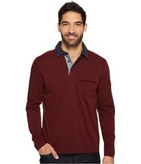 Nautica Long Sleeve Shipman Polo w/ Pocket