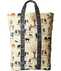 Vivienne Westwood Africa Painted Fold-Over Sack