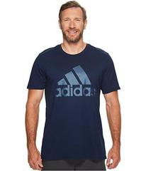 adidas Big & Tall Badge of Sport Metal Mesh Tee