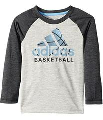 adidas Logo Skins Tee (Toddler/Little Kids)