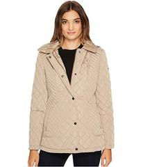 Calvin Klein Quilted Jacket with Hood