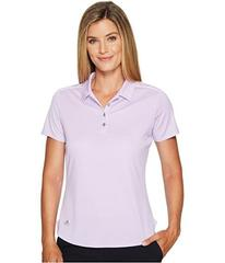 adidas Golf Microdot Short Sleeve Polo