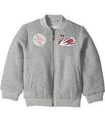 Stella McCartney Dusty Bomber Jacket w/ Swan Patch