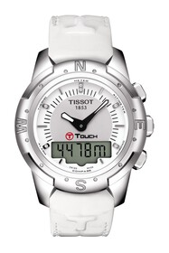 Tissot Women's T-Touch II Titanium Lady Leather St