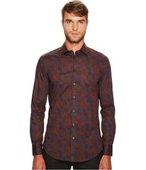 Etro Stretch Plaid Button Down Shirt