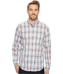 Nautica Long Sleeve Tartan Plaid Shirt