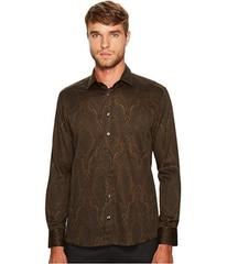Etro Shadow Paisley Button Down