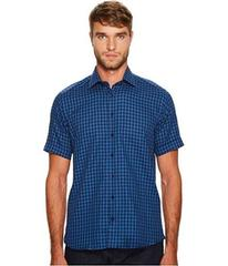 Etro Plaid Short Sleeve Button Down