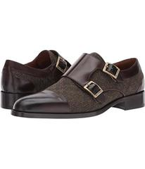Etro Wool/Leather Double Monk