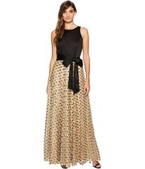 Tahari by ASL Ballgown with Gold Florette Skirt