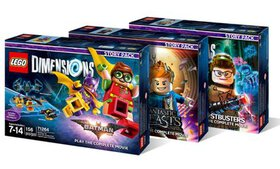 LEGO Dimensions Story Packs for PS3, PS4, X360, XB