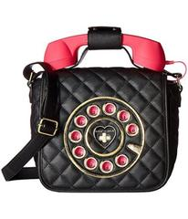 Betsey Johnson Quilted Phone Crossbody