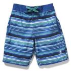 YOUTH WATER STRIPE BOARDSHORT
