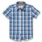 YOUTH PENGUIN PLAID BUTTON DOWN SHIRT