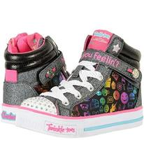 SKECHERS KIDS Shuffles 10828L Lights (Little Kid/B