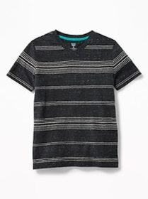 Striped Softest V-Neck Tee for Boys