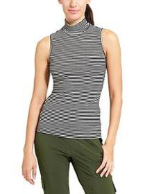 Rib Turtleneck Tank
