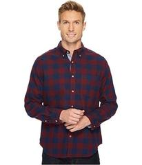 Nautica Long Sleeve Flannel Buffalo Plaid Shirt
