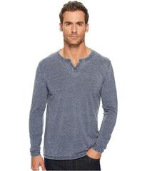 Lucky Brand Burnout Notch Neck Tee